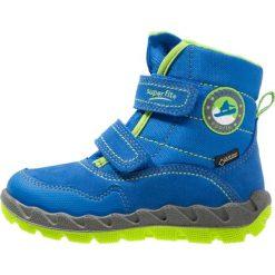 Superfit ICEBIRD Śniegowce bluet. Niebieskie buty zimowe chłopięce marki Superfit, z materiału. W wyprzedaży za 271,20 zł.
