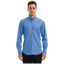 Galvanni Koszula Męska Hasselt Xxl, Jasnoniebieski. Szare koszule męskie na spinki GALVANNI, m, z aplikacjami, z bawełny. Za 169,00 zł.