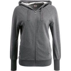 Bluzy rozpinane damskie: Deha HOODIE Bluza rozpinana dark grey melange