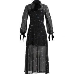 Długie sukienki: English Factory IRIS PRINTED MAXI DRESS CONTRAST TIES Sukienka koszulowa blue iris
