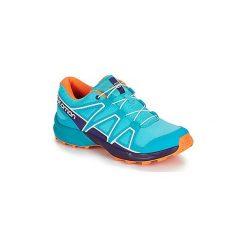 Buty Dziecko Salomon  SPEEDCROSS J. Szare buty sportowe chłopięce marki Salomon, z gore-texu, na sznurówki, outdoorowe, gore-tex. Za 329,00 zł.