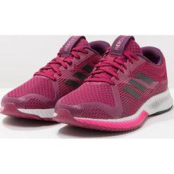 Buty damskie: adidas Performance AEROBOUNCE RACER Obuwie do biegania treningowe mystery ruby/core black/enery pink