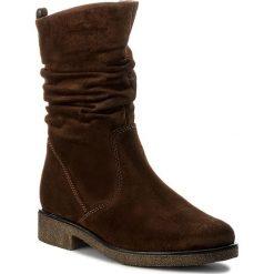 Kozaki GABOR - 72.703.41 Whisky. Brązowe buty zimowe damskie Gabor, ze skóry, przed kolano, na wysokim obcasie, na obcasie. W wyprzedaży za 349,00 zł.