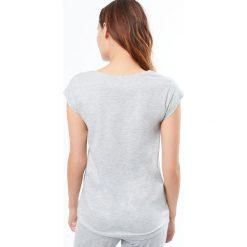 Etam - Top piżamowy Joelle. Niebieskie piżamy damskie marki Etam, l, z bawełny. W wyprzedaży za 34,90 zł.
