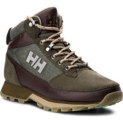Trekkingi HELLY HANSEN - W Chilcotin 114-28.489 Forest Night/Warm Espresso/Ivy Green. Brązowe buty trekkingowe damskie Helly Hansen. W wyprzedaży za 359,00 zł.