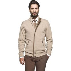 Sweter halifaxe stójka beż. Szare golfy męskie marki Recman, m, z długim rękawem. Za 229,00 zł.