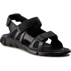 Sandały ECCO - Intrinsic Sandal 70555351052 Black/Black. Czarne sandały chłopięce ecco, z materiału. Za 329,90 zł.