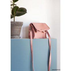 Boxy Bag / Pink Salmon - dwuczęściowa torebka. Różowe torebki klasyczne damskie marki Pakamera. Za 429,00 zł.