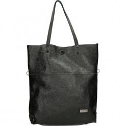 Torba - 4-232-O L NER. Czarne torebki klasyczne damskie Venezia, ze skóry. Za 319,00 zł.