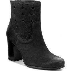 Botki LASOCKI - 70604-09 Czarny. Czarne buty zimowe damskie marki Lasocki, ze skóry. Za 279,99 zł.