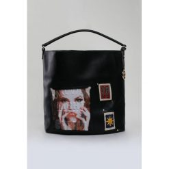 Shopper bag damskie: Shopper bag z printem II