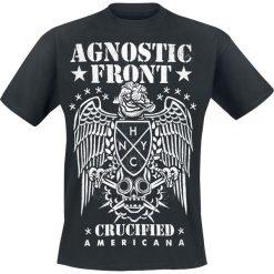 T-shirty męskie: Agnostic Front Americana T-Shirt czarny
