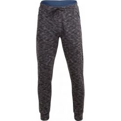 Spodnie męskie: Spodnie dresowe męskie SPMD604 - głęboka czerń  melanż - Outhorn