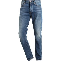 Jeansy męskie regular: Nudie Jeans FEARLESS FREDDIE Jeansy Relaxed Fit shaded rain