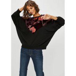 Only - Bluza. Szare bluzy damskie marki ONLY, s, z bawełny, casualowe, z okrągłym kołnierzem. Za 169,90 zł.