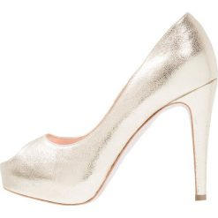 Szpilki: Yes I Do LOVE Szpilki Peep Toe gold