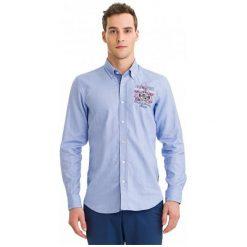 Galvanni Koszula Męska Vista L Jasnoniebieska. Szare koszule męskie GALVANNI, l, z aplikacjami. W wyprzedaży za 279,00 zł.