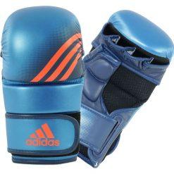 Rękawiczki męskie: Adidas prędkości graplingu rękawiczki – blue_l