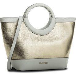 Torebka KAZAR - Sabrina 32499-01-51 Biały Złoty. Białe torebki klasyczne damskie Kazar, ze skóry. W wyprzedaży za 529,00 zł.