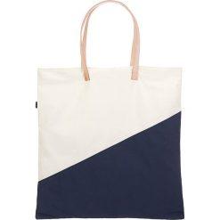 """Shopper bag damskie: Shopper bag """"Palm Tote"""" w kolorze biało-granatowym"""