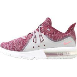 Buty do biegania damskie: Nike Performance AIR MAX SEQUENT 3 Obuwie do biegania treningowe bordeaux/elemental pink/wolf grey