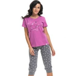Piżamy damskie: Piżama w kolorze fuksji
