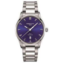 RABAT ZEGAREK CERTINA DS 2 Gent Precidrive C024.410.11.041.20. Niebieskie zegarki męskie marki CERTINA, ze stali. W wyprzedaży za 1443,20 zł.