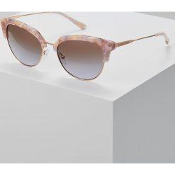 Okulary przeciwsłoneczne damskie aviatory: Michael Kors Okulary przeciwsłoneczne pastel pink mosaic/shiny rosegoldcoloured
