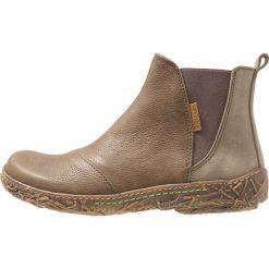El Naturalista NIDO Ankle boot olive. Brązowe botki damskie skórzane El Naturalista. Za 549,00 zł.