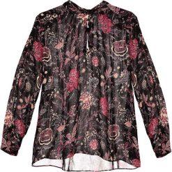 Bluzki asymetryczne: Second Female FREYA BLOUSE Bluzka black