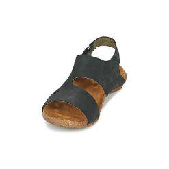 Sandały El Naturalista  WAKATAUA. Czarne sandały damskie El Naturalista. Za 351,20 zł.