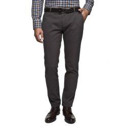 Rurki męskie: spodnie calvia 214 grafit slim fit