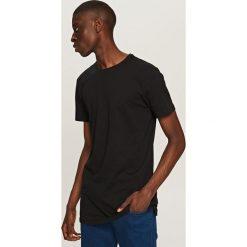 T-shirt Basic - Czarny. Czarne t-shirty męskie marki Reserved, l. Za 49,99 zł.