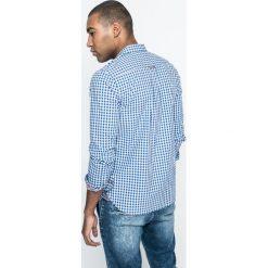 Medicine - Koszula City Rhythmes. Szare koszule męskie na spinki marki MEDICINE, m, w kratkę, z bawełny, z klasycznym kołnierzykiem, z długim rękawem. W wyprzedaży za 49,90 zł.