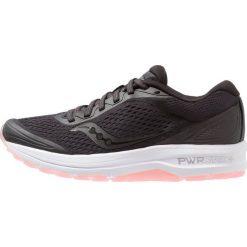 Saucony CLARION Obuwie do biegania treningowe black. Czarne buty do biegania damskie Saucony, z materiału. Za 419,00 zł.