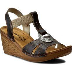 Rzymianki damskie: Sandały INBLU – OC02HC11 Czarny
