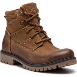 Trapery LASOCKI - WI20-ASPEN-04 Brown. Brązowe buty zimowe damskie Lasocki, z nubiku. Za 199,99 zł.