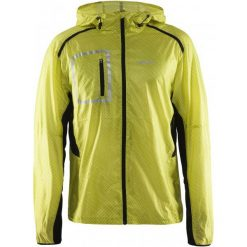Craft Kurtka Focus 2.0 Hood Yellow Xxl. Żółte kurtki do fitnessu męskie marki Craft, m, z materiału. W wyprzedaży za 319,00 zł.