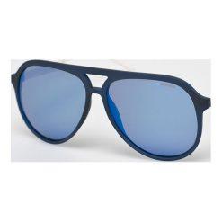 Polaroid - Okulary PLD2048S. Brązowe okulary przeciwsłoneczne męskie aviatory Polaroid, z materiału. W wyprzedaży za 269,90 zł.