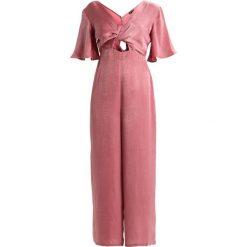 Kombinezony damskie: Topshop KNOT  Kombinezon pink