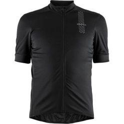 Craft Koszulka rowerowa Rise Jersey czarna r. L (999000). Odzież rowerowa męska Craft, l. Za 137,00 zł.