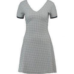 Odzież damska: Armani Exchange Sukienka letnia white/navy