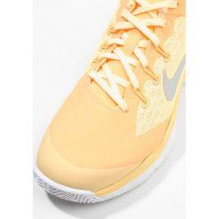 Nike Performance AIR ZOOM ULTRA Obuwie do tenisa Outdoor tangerine tint/metallic silver. Pomarańczowe buty do tenisu damskie Nike Performance, z materiału. Za 379,00 zł.
