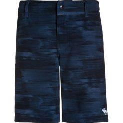 Abercrombie & Fitch CORE  Szorty kąpielowe deep navy. Niebieskie spodenki chłopięce Abercrombie & Fitch, z elastanu, sportowe. W wyprzedaży za 132,30 zł.