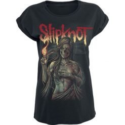 Slipknot Burn Me Away Koszulka damska czarny. Czarne t-shirty damskie Slipknot, xl. Za 94,90 zł.