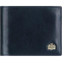 Portfel 10-1-040-N. Niebieskie portfele męskie Wittchen. Za 339,00 zł.
