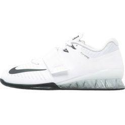 Nike Performance ROMALEOS 3 Obuwie treningowe white/black/volt. Białe buty skate męskie Nike Performance, z materiału. Za 849,00 zł.