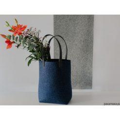 Torebki klasyczne damskie: torebka filcowa INDYGO