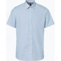 Finshley & Harding - Koszula męska łatwa w prasowaniu, zielony. Czarne koszule męskie non-iron marki Finshley & Harding, w kratkę. Za 49,95 zł.