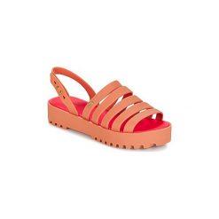 Sandały Melissa  CREATIVES FLAT SP AD. Brązowe sandały damskie Melissa. Za 359,20 zł.